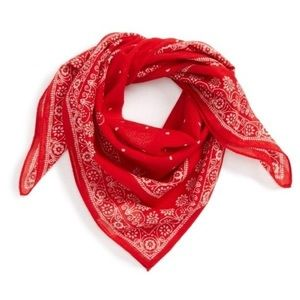 Madewell Red Scarf